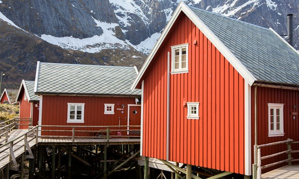 Rorbu Cabins Deluxe 3 Bedrooms Classic Norway